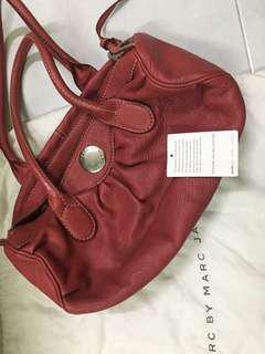 Authentic MBMJ MARC JACOB Leather bag