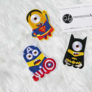 🚚 Iron On Patch | Avengers Minions [Currently OOS]