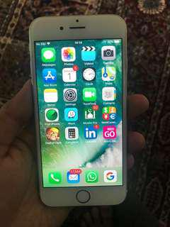 Iphone 6 16gb rose gold