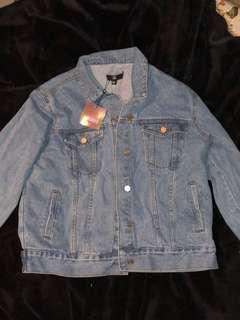 BRAND NEW OVERSIZED DENIM JACKET FROM MISSGUIDED