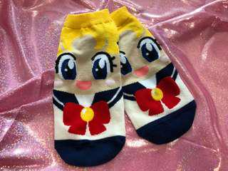 Sailor moon theme socks