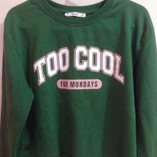 Pull&Bear Cropped Sweatshirt