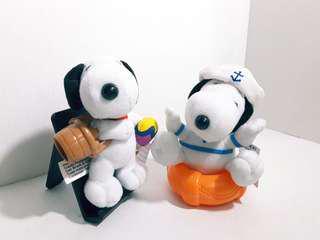 南美版2000 共2件包郵 史諾比50周年布公仔 McDonald's SNOOPY 50th Celebration doll