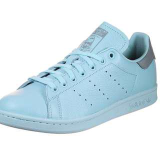 Size 7.5 Blue Stan Smith Sneakers