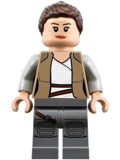 Lego Rey minifigure from Star Wars