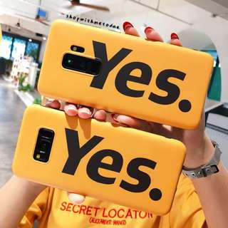 Say Yes Samsung Note 9 / Note 8 / S9+ / S8 / S7edge casing