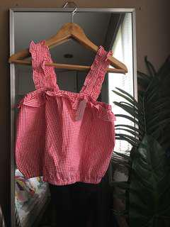 Sixty Eight Gingham Top