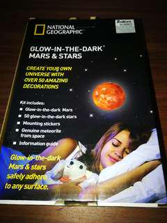 National Geographic glow-in-the-dark Mars and Stars