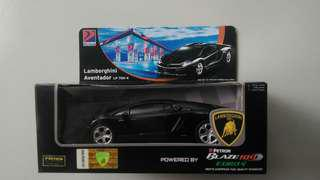 Petron collectible limited edition - black LAMBORGHINI AVENTADOR LP 700-4