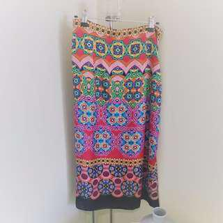 ✨ Zara Midi Skirt