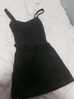 David Lawrence casual black dress