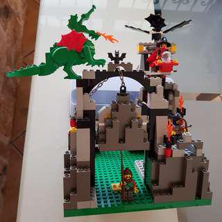 Lego dragon castle rare