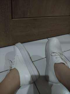 BowBow White Shoes