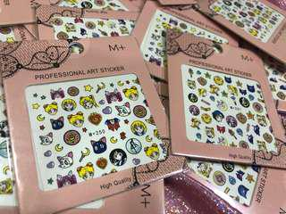 Sailor moon nail / art stickers