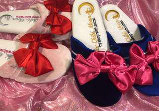 Sailor moon ribbon home slippers