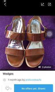 Flatshoes/wedges