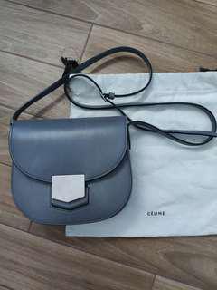 Authentic celine trotteur grey bag