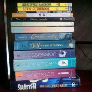 YA BOOKS!