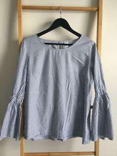 Bell Sleeve Blouse - Size 14
