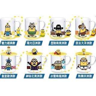 🚚 7-11小小兵耐熱杯蓋、杯墊(單售)