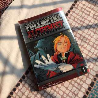 Fullmetal Alchemist Manga Volume 1 Bahasa Inggris