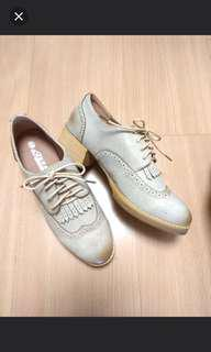 Shoes 紳士鞋 牛津鞋 全新 復古皮鞋 仿皮
