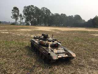 恆龍1/16 俄羅斯T-90 搖控坦克