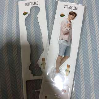 youngjae itsskin standee
