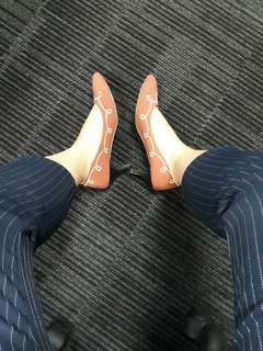 Magenta mini Heels