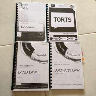 Q&A Law Books