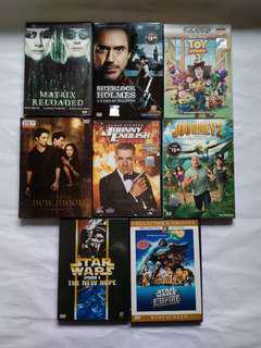 Hollywood Movies with Sequel Original VCD/DVD