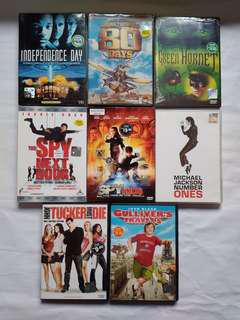 Hollywood Movies Original VCD/DVD