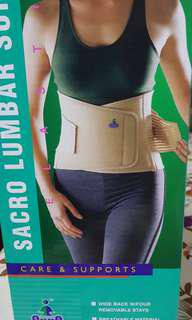 Lumbar support or Support for Back M size