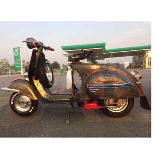 S.I.P 2.0 Racing Exhaust Twin Pipe vespa 150cc jobot vbb