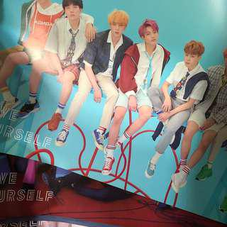 BTS LOVE YOURSELF ANSWER POSTERS