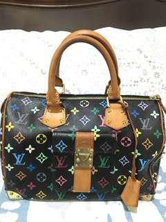 Louis Vuitton speedy 30 multicolore