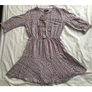 Rampage Dress / tunic floral never worn AU size 8 #mcsfashion