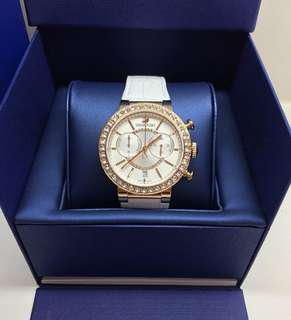 Authentic Swarovski White Rose Gold Ladies Watch