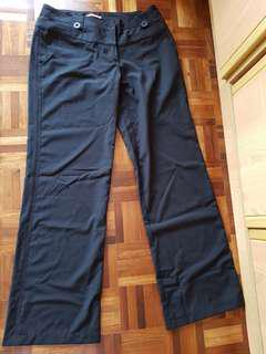 Black formal pants(no stretch)