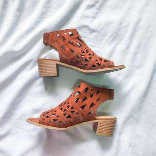 Payless cut out sandals