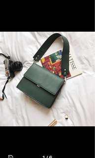 Green PVC Handbag
