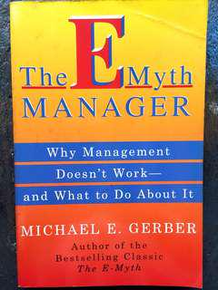 The E Myth Manager - by Gerber, Michael E.