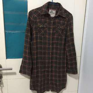 LONG FLANEL SHIRT