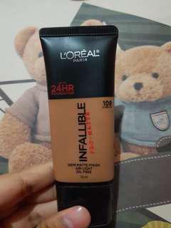 LOREAL PARIS INFALLIBLE Pro-Matte 109