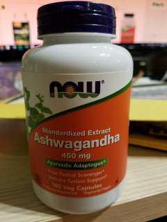 Now Foods Ashwsgandha 450 mg, 180 Caps