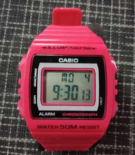Pink Casio Wrist Watch