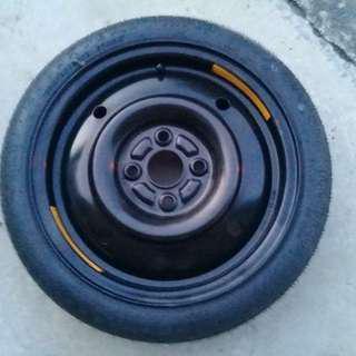 Myvi Spare tyre