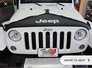 Jeep bra cover