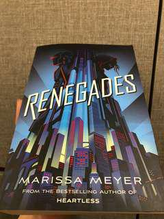 Renegades by Merissa Meyer