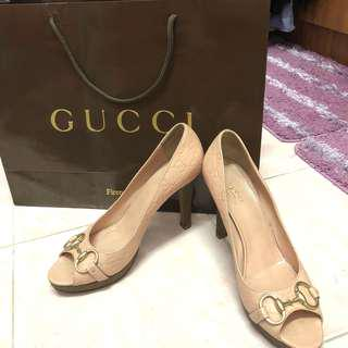 Authentic Gucci Guccisima Leather Heels